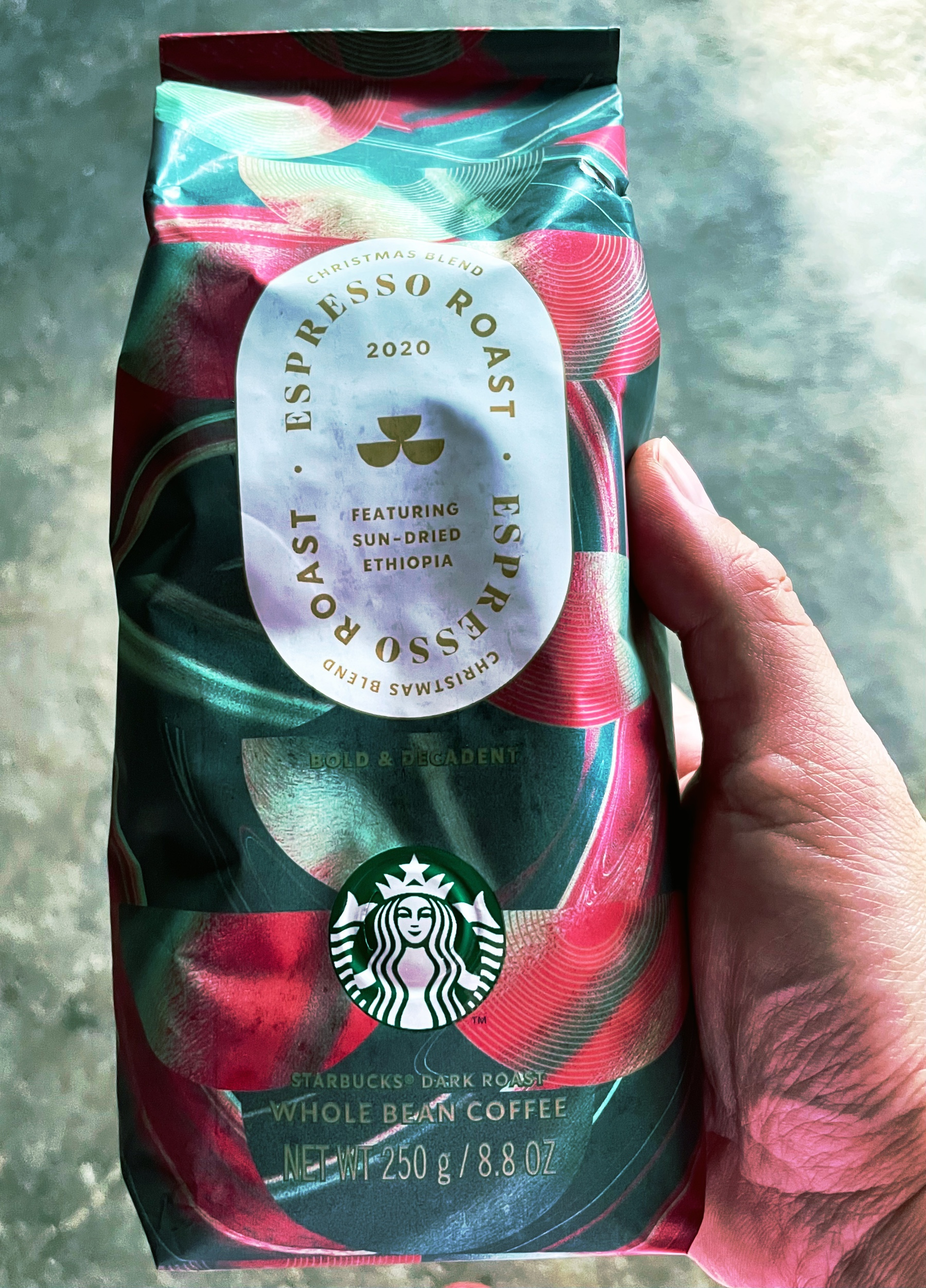 starbucks christmas blend 2020 espresso roast whole beans