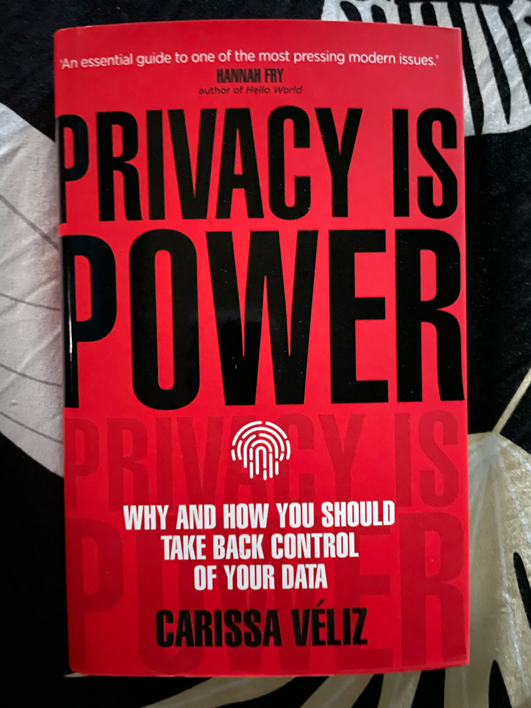 Privacy is Power book